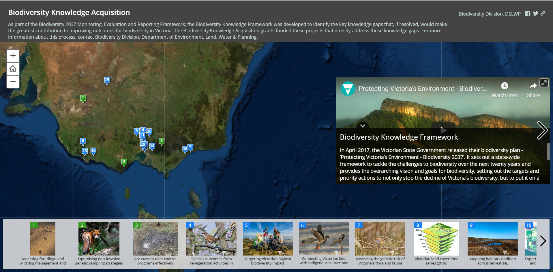Still of story map which when clicked links to story map
