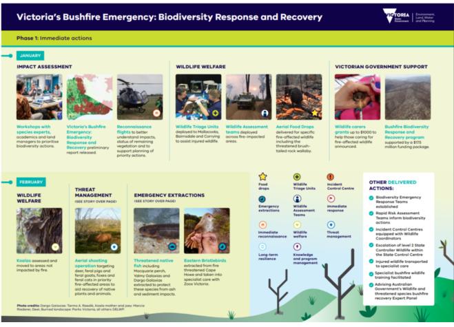 Biodiversity Bushfire Response and Recovery